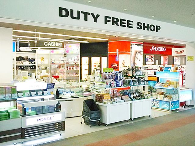 免税店(出国エリア)|岡山桃太郎空港